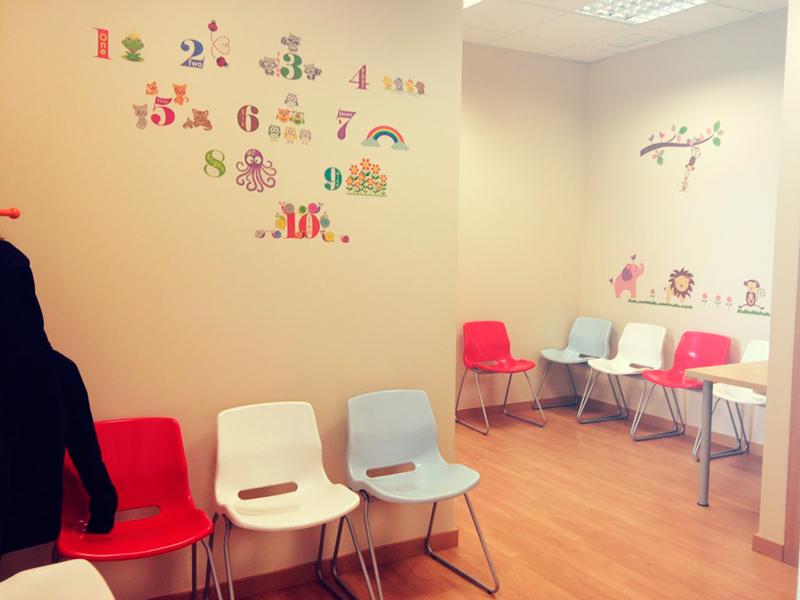 instalaciones Napsis, sala de espera